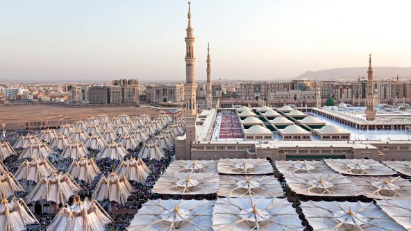 Madinah Piazza Shading Project - Medina, Saudi-Arabien
