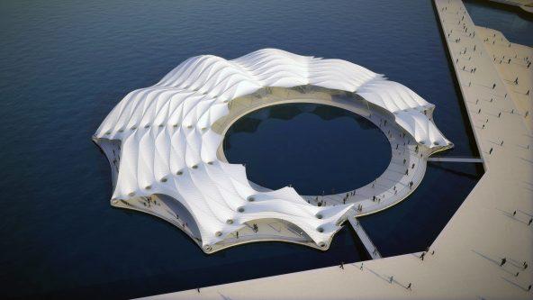 Pavillon für die EXPO 2012 - Yeosu, Korea