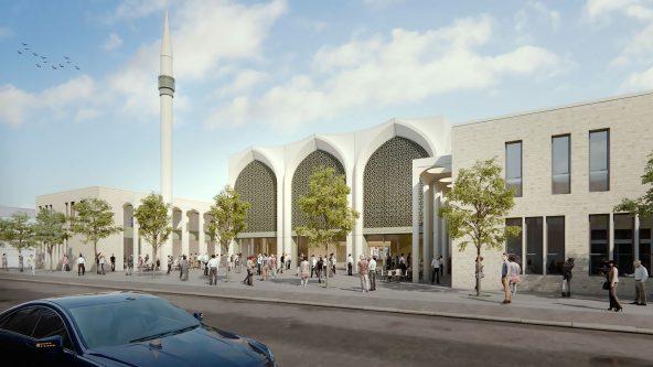 Moschee Feuerbach - Stuttgart, Deutschland