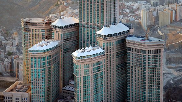 Tower Tents - Mekka, Saudi-Arabien