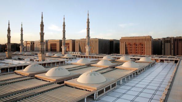 Sliding Domes - Medina, Saudi-Arabien