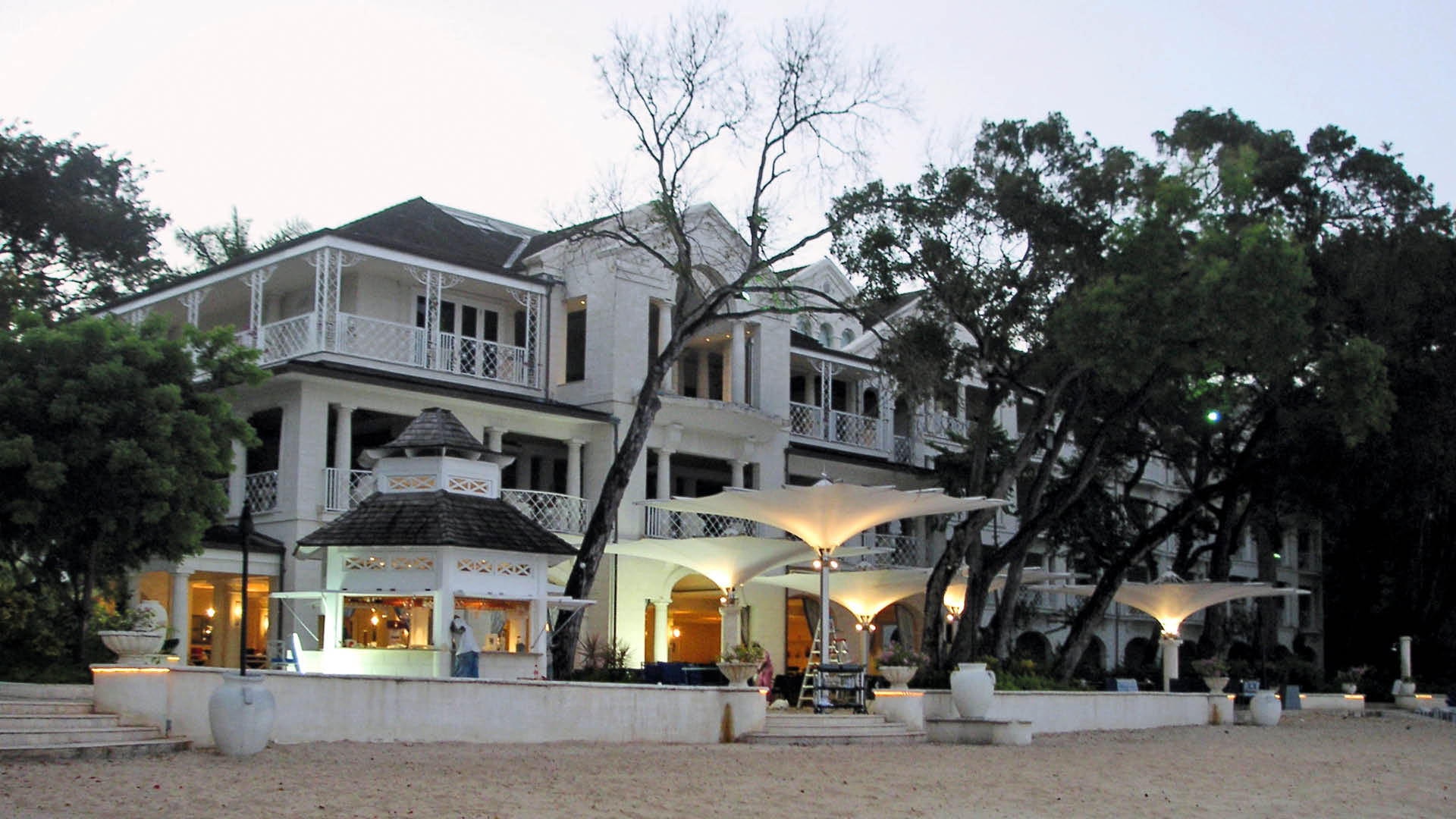 A prestigious address in the Caribbean - The Sandy Lane Hotel in Barbados is widely regarded as one of the most luxurious resorts in the West Indies.