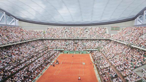 Roland Garros Centre Court - Paris, Frankreich